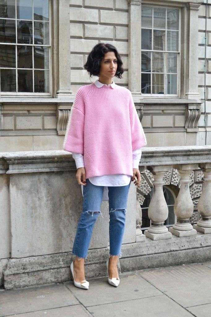 Esta temporada, apuéstalo todo al rosa para triunfar. http://chezagnes.blogspot.com.es/search/label/pink   #pink #rosa #shockingpink #streetstyle #PINKPOWER