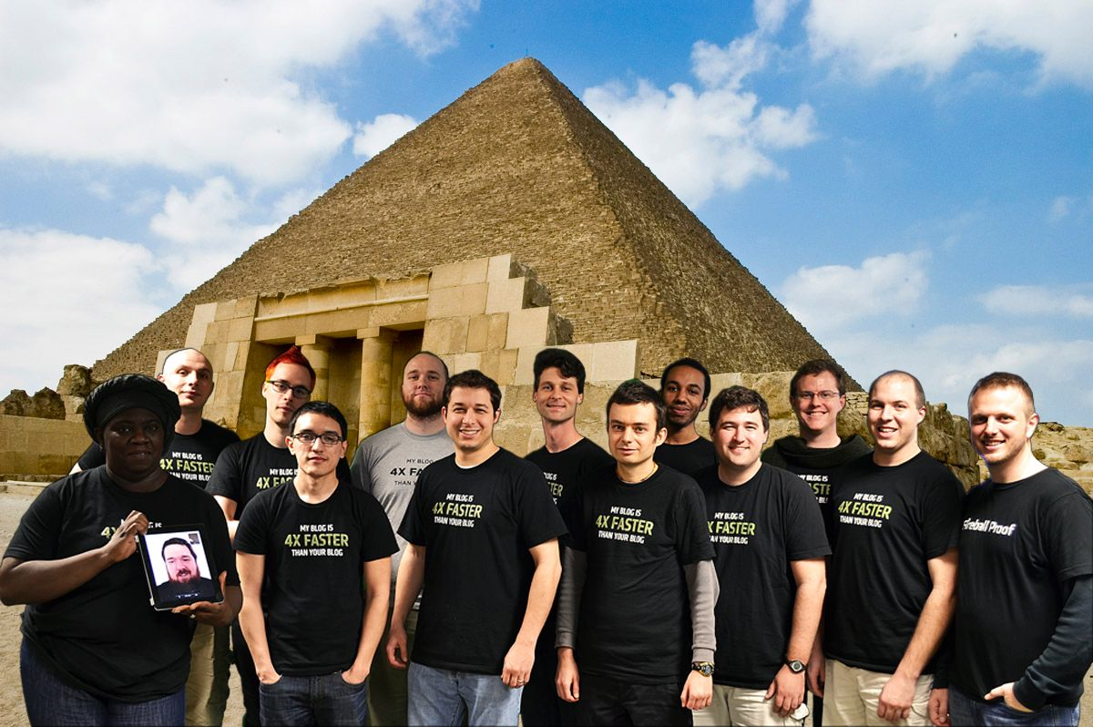 Our company field trip to Egypt...