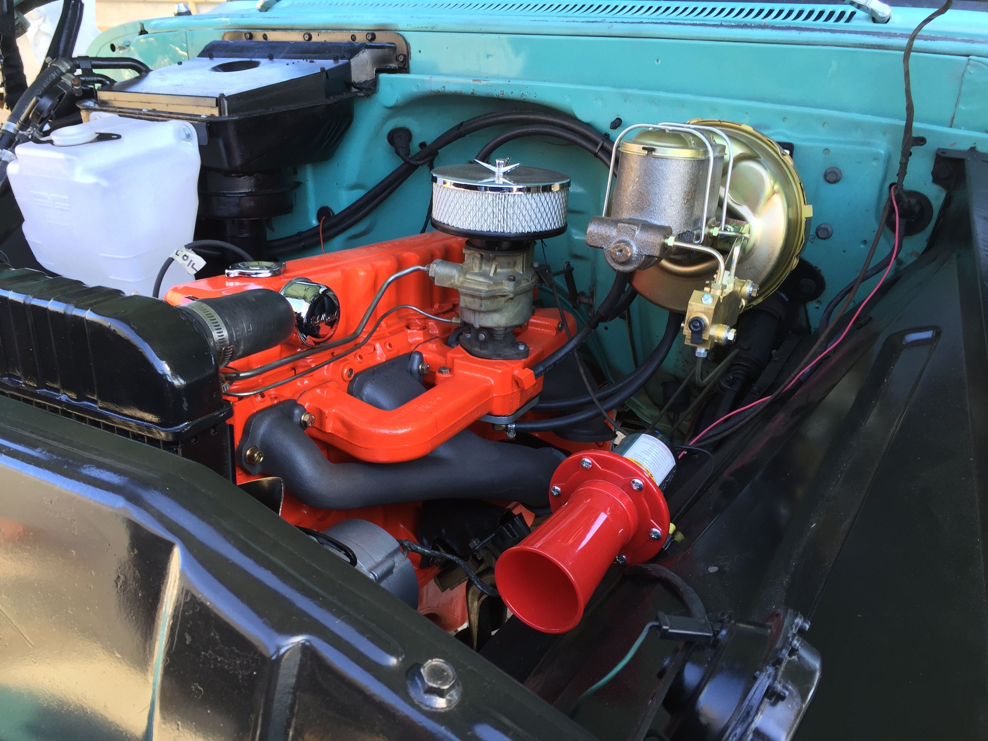 Chevrolet 230 rebuilt to Chevrolet 250. This engine features ...