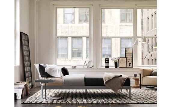 Min Bed W Plexi Headboard Twin Designed By Luciano Bertoncini
