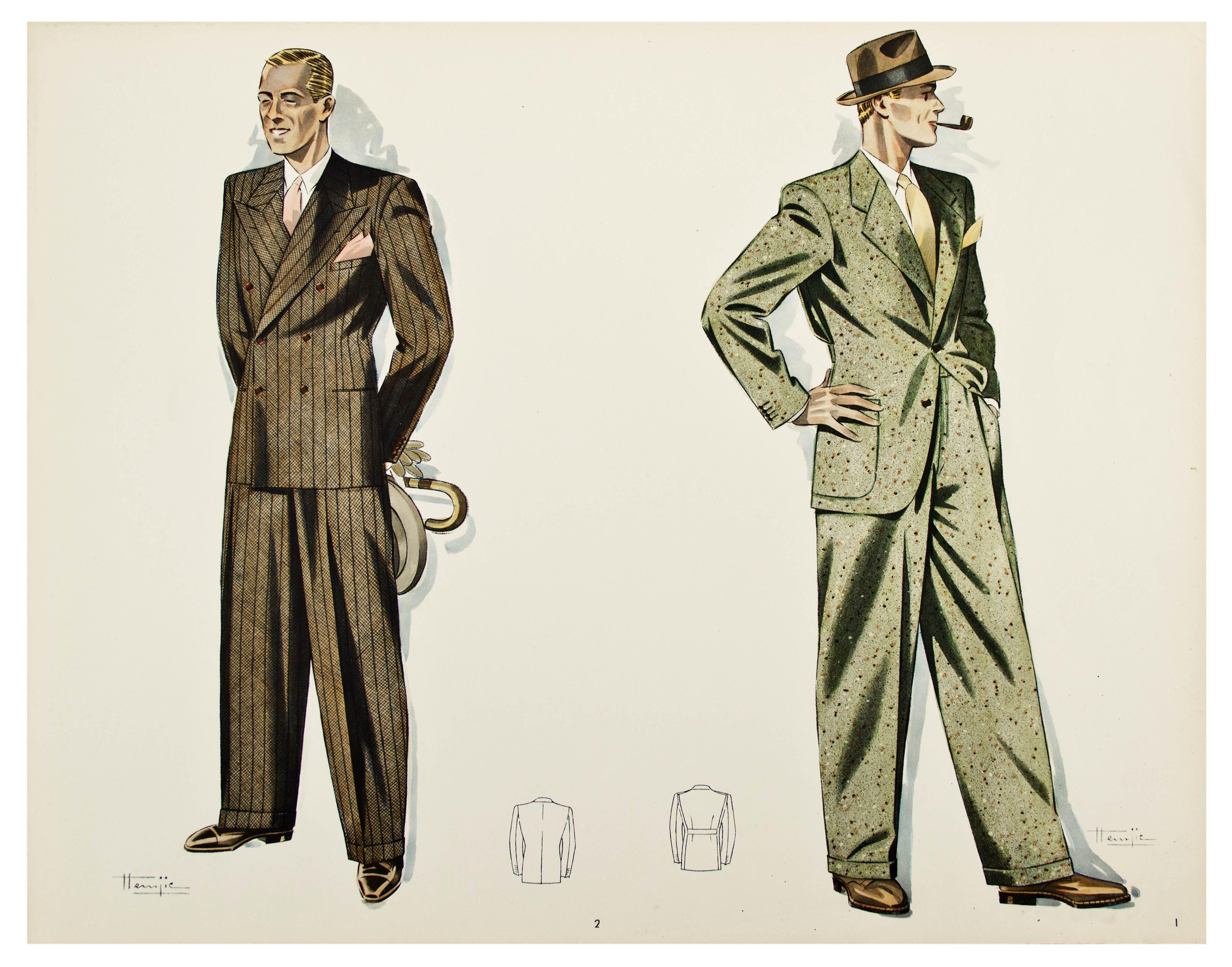 1944 mens fashion - Google Search | Seen Change ...