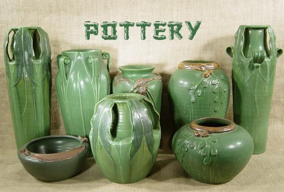 arts and crafts decor rustic movement - Pottery Design Ideas