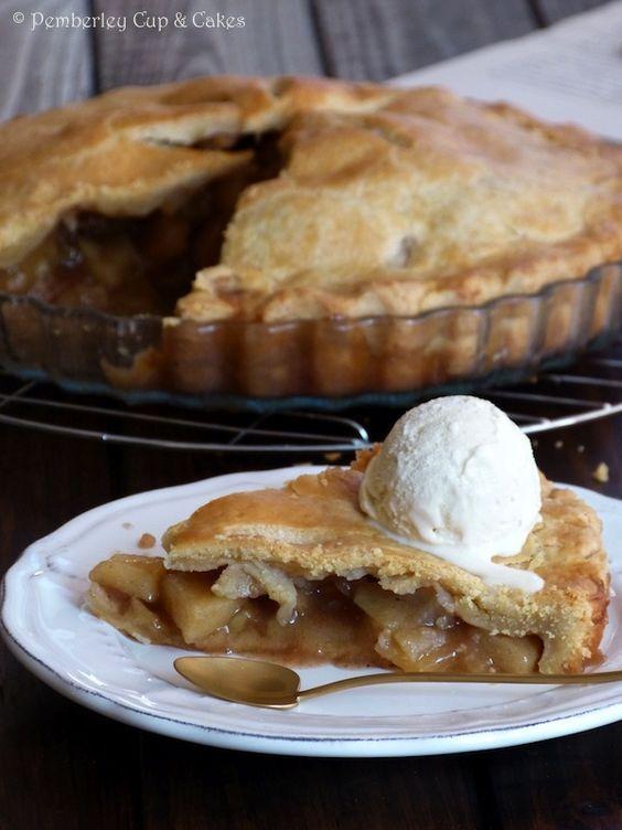 Apple Pie Tarta De Manzana Americana Más Recetas Tarta De Manzana Tartas Y Postres
