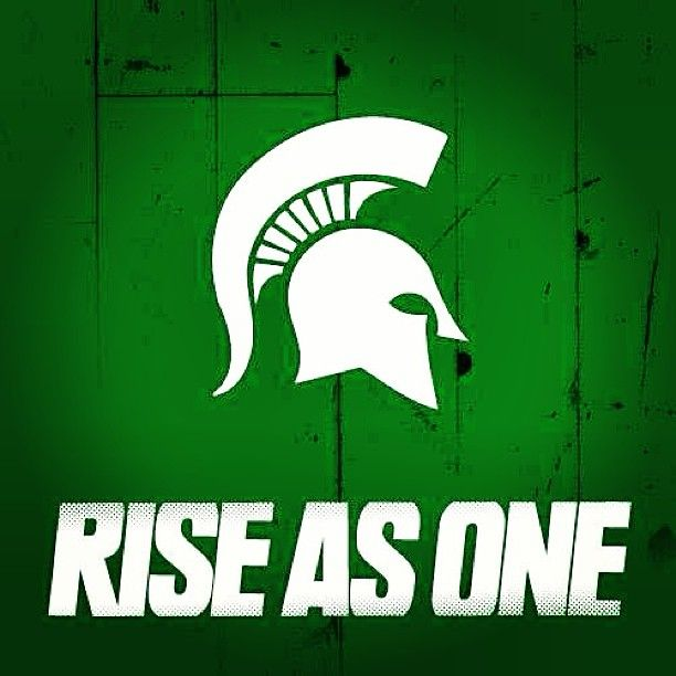 Pin By Lauren Price On Sports Michigan State Logo Michigan State Spartans Football Michigan State Fan