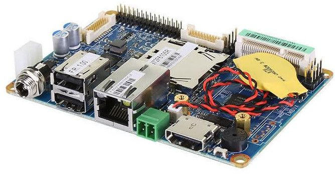 Logic Supply's Embux-made Pico-ITX SBC runs Android and