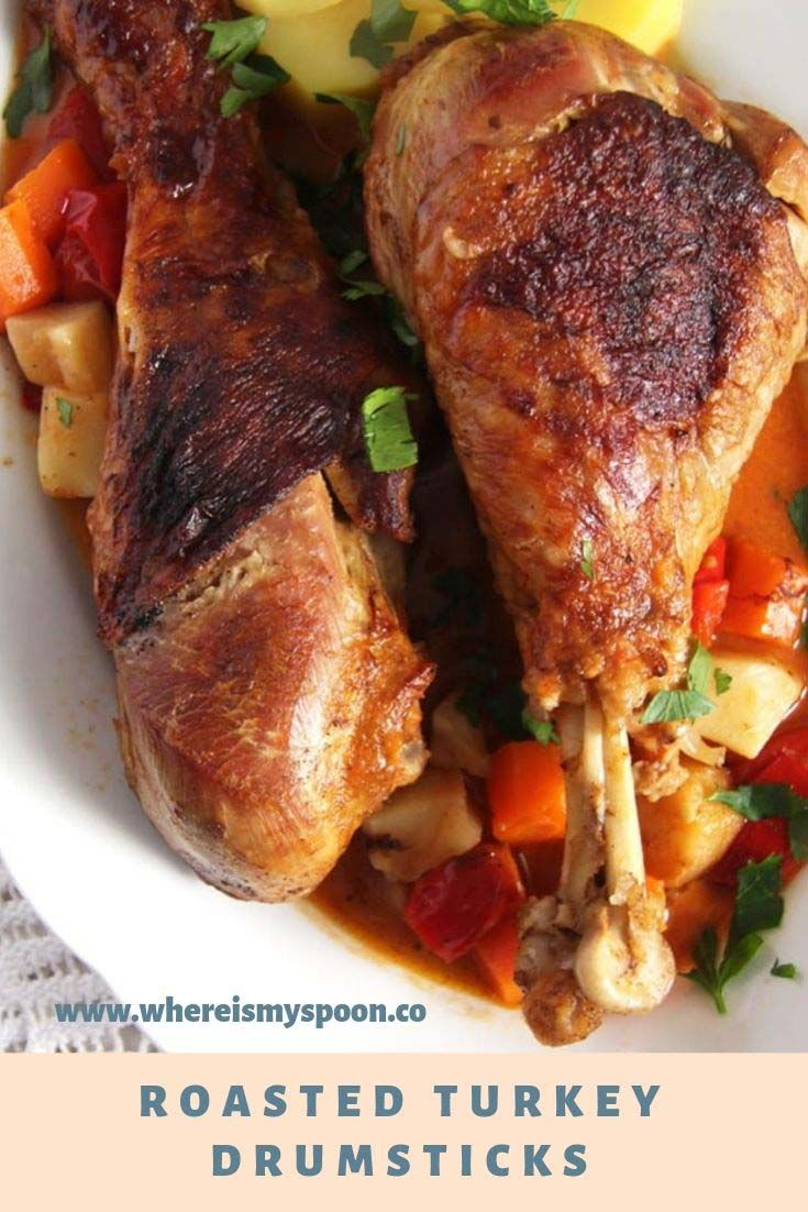 Roasted Turkey Drumsticks