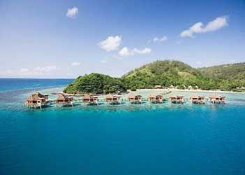 Fiji Islands - Private Huts on stilts...