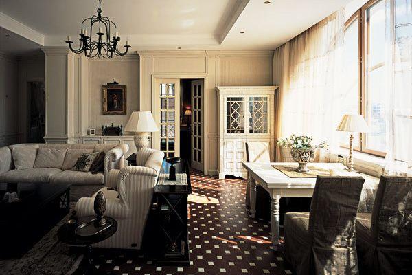 Beautiful Apartment Interior In Moscow // Nina Prudnikova & Petr Kozeykin