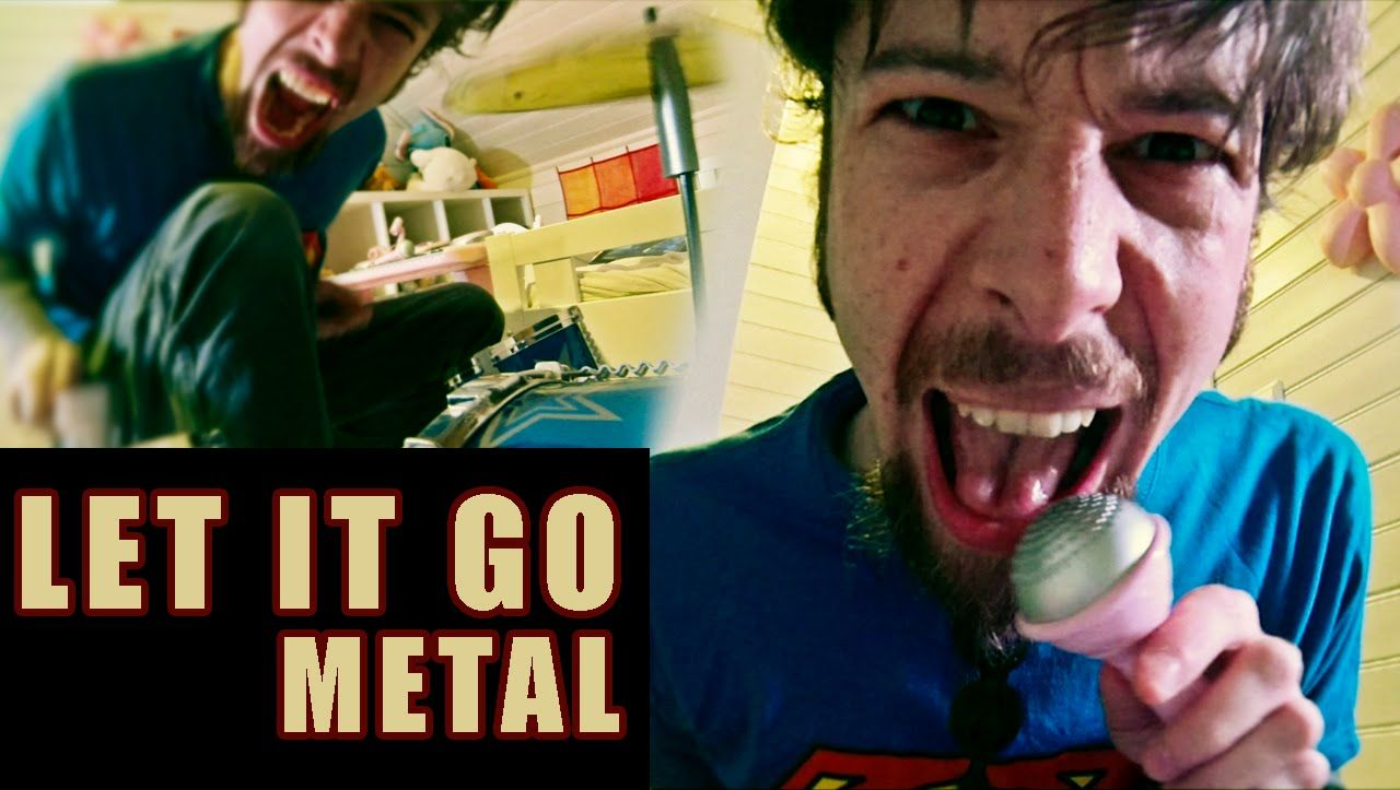 Let It Go - from Frozen (metal cover by Leo Moracchioli) hahhahahah