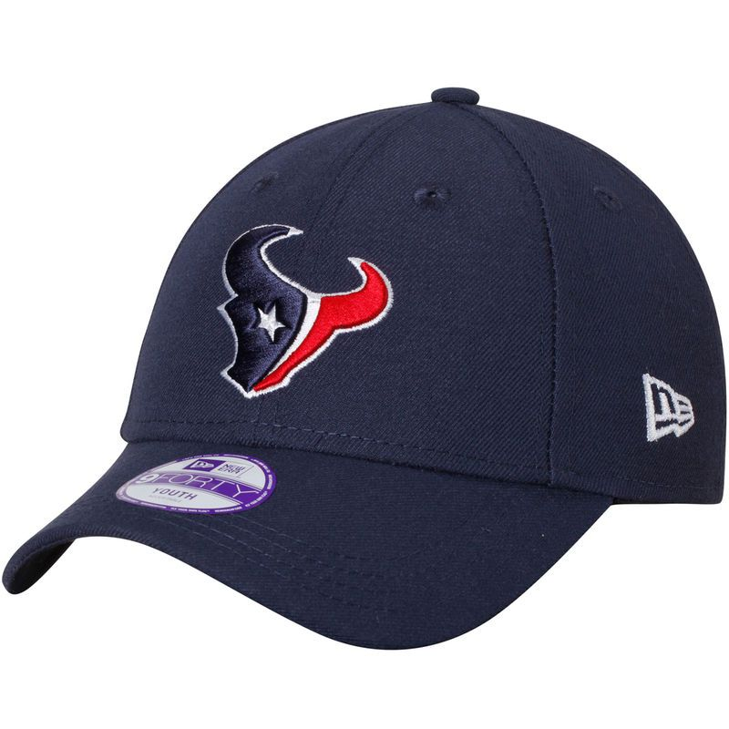 new concept b2ec9 65782 Houston Texans New Era Youth League 9FORTY Adjustable Hat - Navy