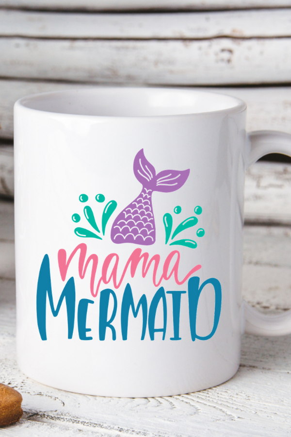 This Mama Mermaid Mug Is A Perfect Gift For Your Mom Who At Heart Also Makes Birthday Mothers Day