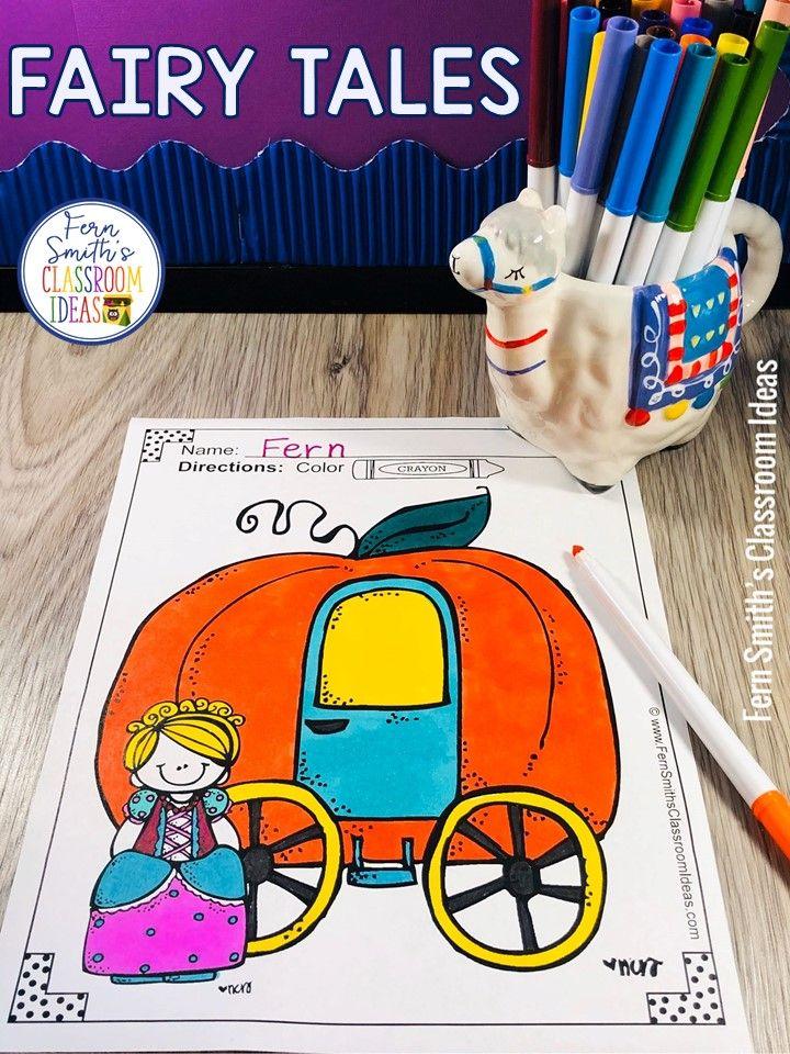 Fairy Tales Coloring Pages - 42 Pages of Fairy Tale Fun in ...