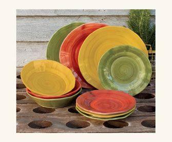 Tuscan Dinnerware   Mattina Toscana Dinnerware - Dinnerware - Tabletop - NapaStyle & Tuscan Dinnerware   Mattina Toscana Dinnerware - Dinnerware ...