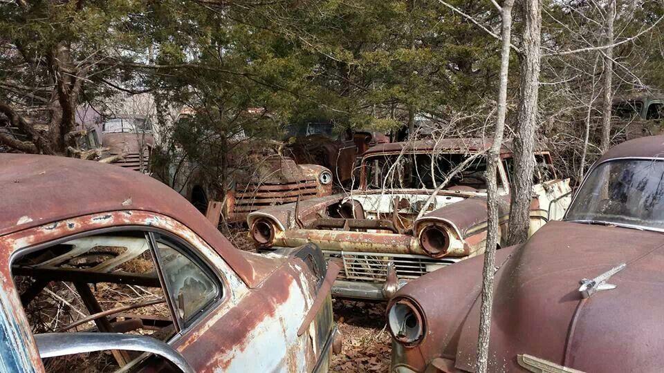 Pin by James Mills on Rust Abandoned cars, Rat rod, Junkyard