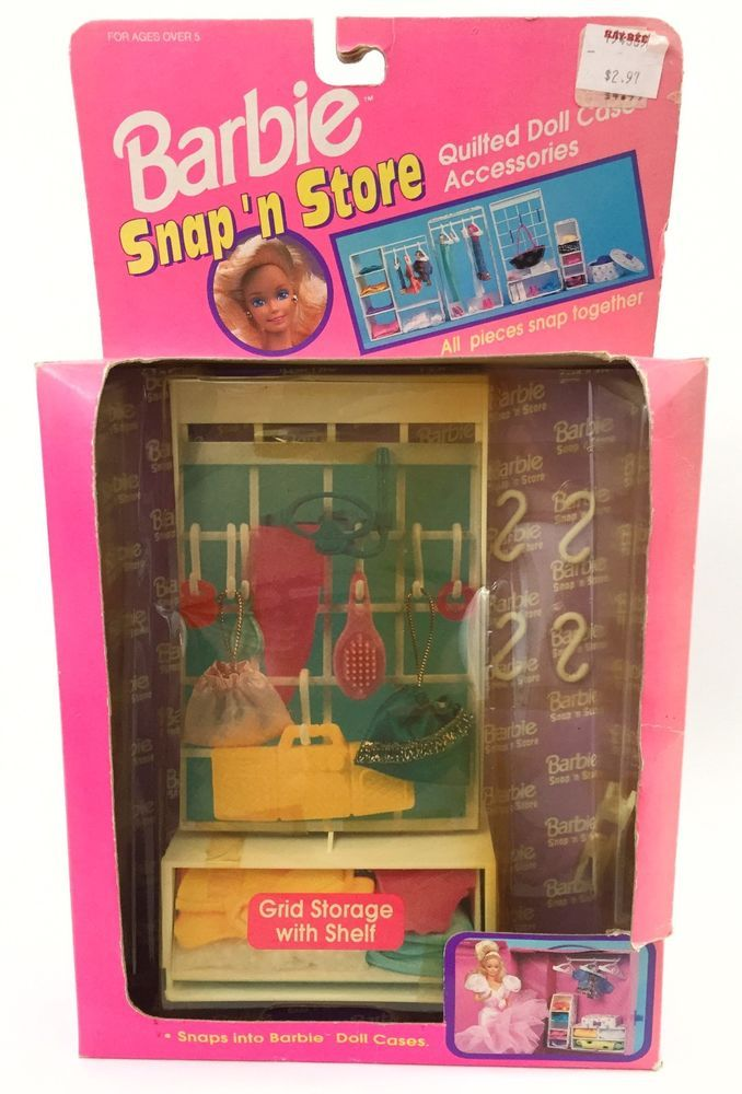 Barbie Snap N Store Clothing Accessories Storage For Cases | EBay | For  Sale On EBay | Pinterest