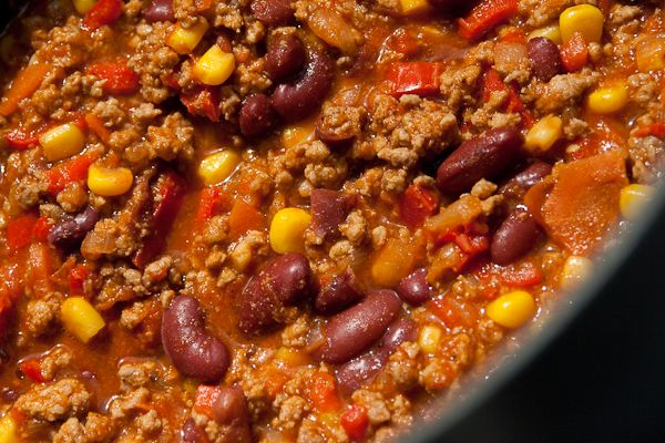 Feuriges Chili Con Carne 45 Recept Favorite Pinterest