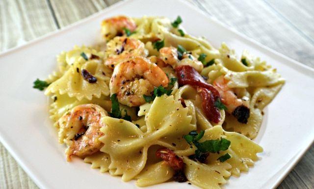 Olive Garden's Mediterranean Garlic Shrimp Recipe