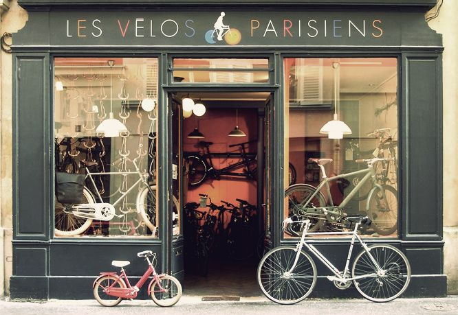 Les v los parisiens paris stores pinterest for Garage velo paris