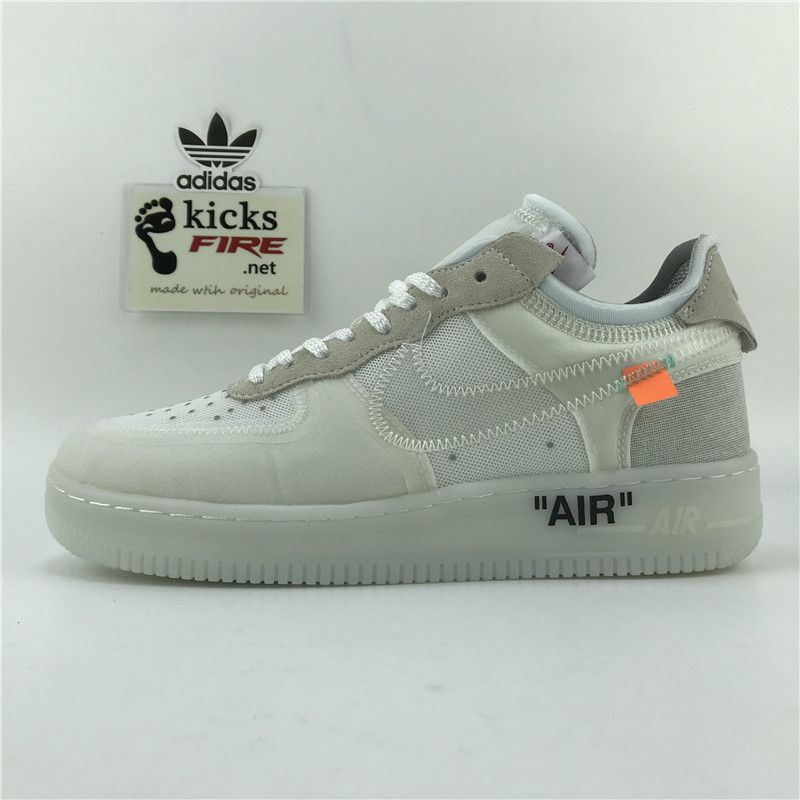 official photos d27e9 816ba Nike Air Force 1 Low x Virgil Abloh AO4606-100 36-45 RT10318 - 125.00