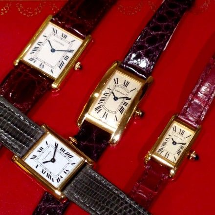 official photos 27ad1 ab3d8 有楽町ルミネVintage Cartier Watchポイント倍&初回 ...
