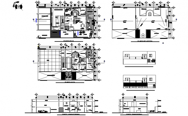 Elevation And Section House Room Plan Detail Dwg File Room Planning House Rooms How To Plan