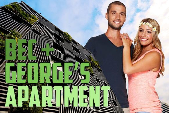 The Block Sky High | Bec and George's apartment and auction results