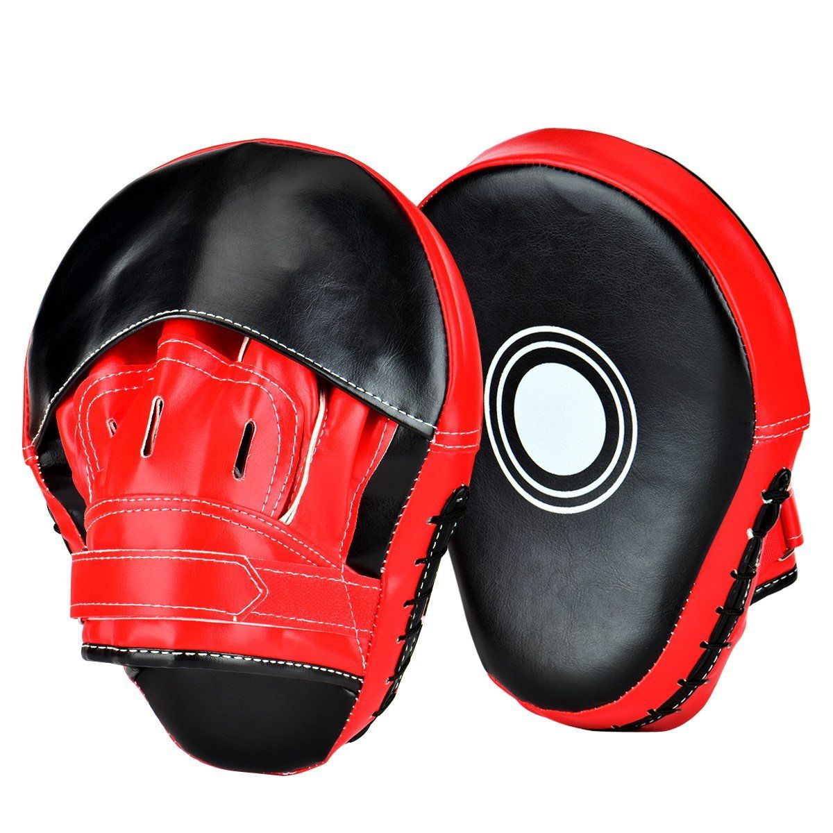 2Pcs Boxing Punch Mitts Training Pad for MMA Karate Muay Thai Taekwondo Trainer