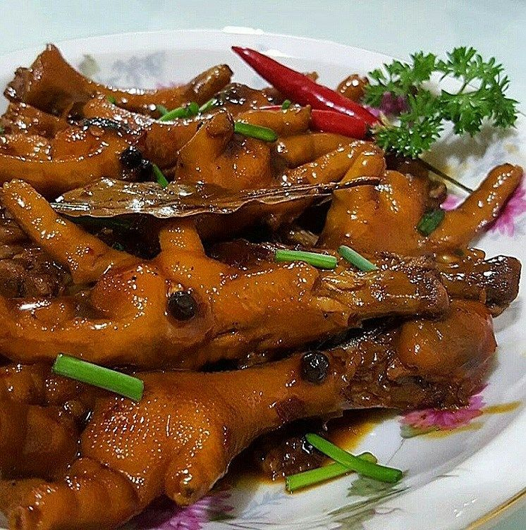 In our country, grilled chicken feet is commonly known as Adidas. It was  coined from the famous brand of shoes.