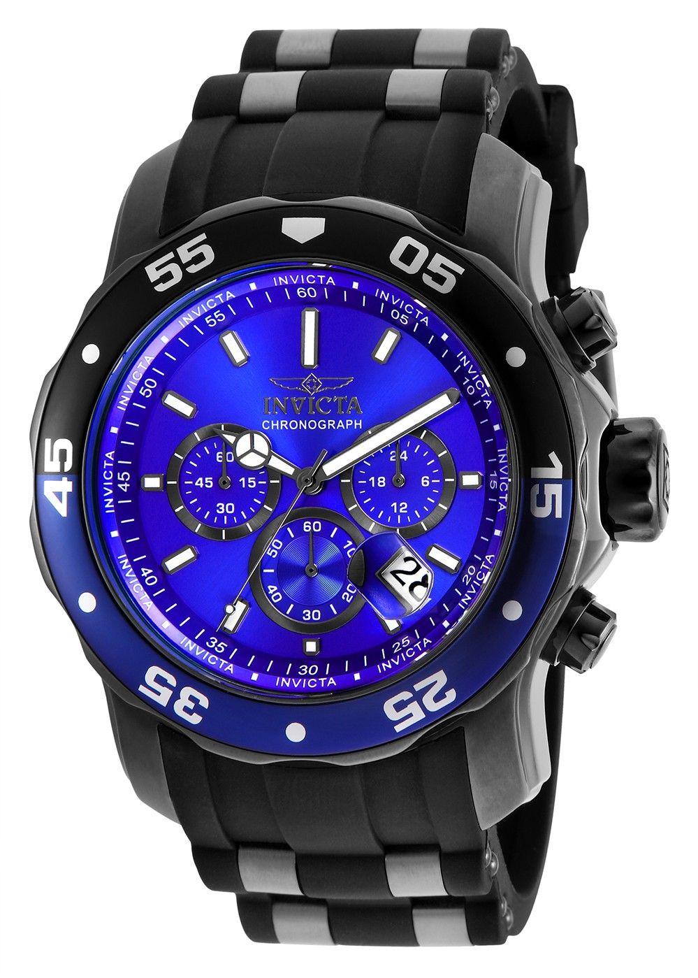 Invicta Pro Diver 26128 Chronograaf Herenhorloge Blauwe