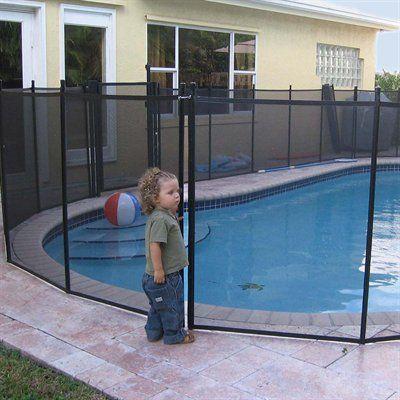 Esse Enterprises Wwf Water Warden Pool Safety Fence Pool Safety Fence Fence Around Pool Pool Safety