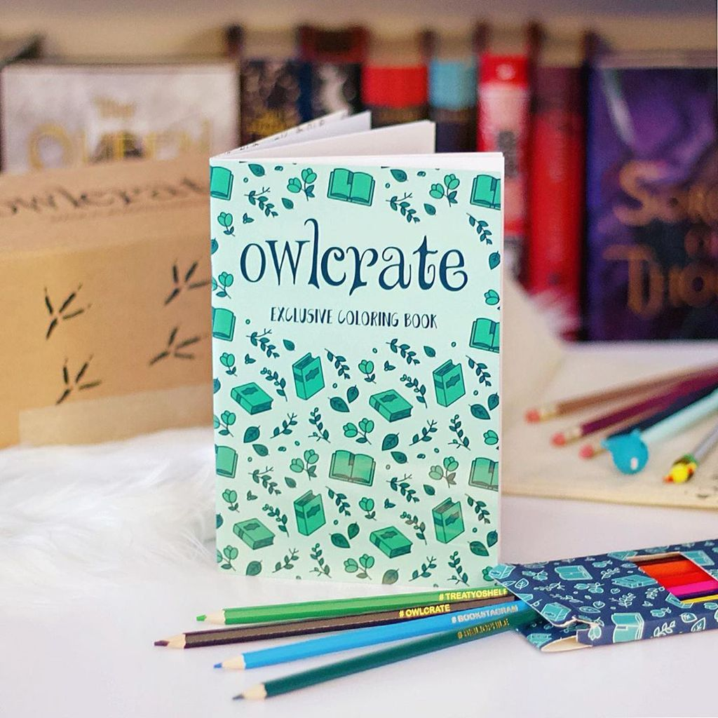 Owlcrate Enamel Pin Coloring Book Coloring Books Books Owlcrate