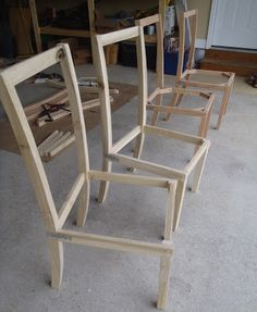 Lazy Liz On Less How To Build And Upholster Dinning Chairs Upholstered Dining Room ChairsDiy