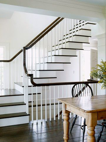 Although This Floating Staircase Appears To Lack Support It S Actually A Strong Stable Design Each Step Wa Staircase Design Stairs Design Floating Staircase