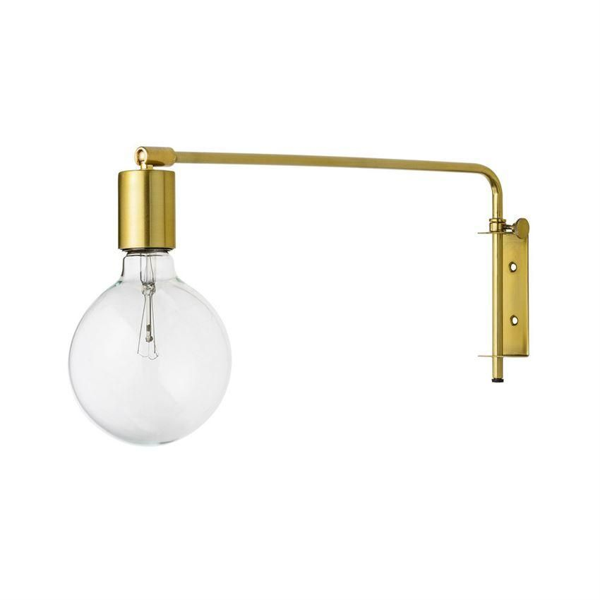 Gold Metal Wall Lamp Design By Bd Edition Wall Lamp Wall Lights Brass Wall Lamp