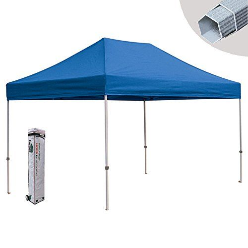 Eurmax Pre 10x15 Canopy Tent Commercial Pop Up Canopy Gazebo With Roller Bag Blue Visit The Image Link More Details Note It Is Aff Canopy Tent Gazebo Canopy