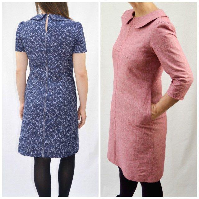 THE KITTY DRESS by MAVEN PATTERNS | PDF sewing pattern | things i ...