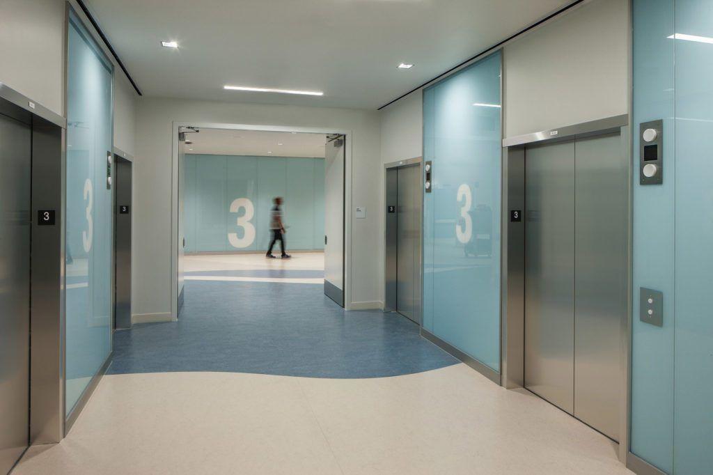 Image result for hospital elevator lobby design   Elevator ...