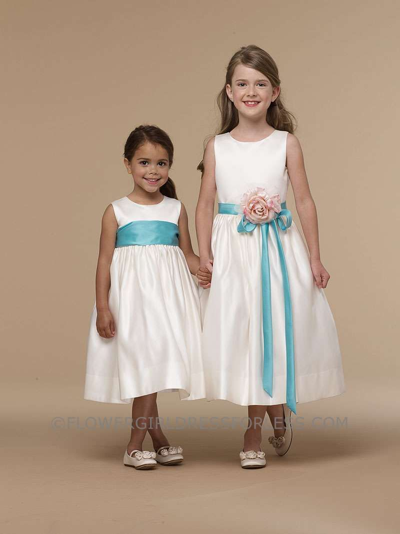 ea880f5db50 Change the color of the sash and flower Us Angels Flower Girl Dress- Style  702- Build Your Own Dress  99.99