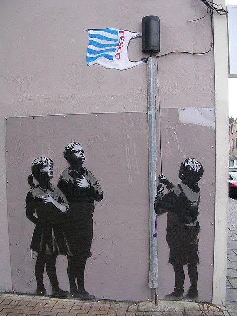 Banksy S Statement Banksy Art Street Art Banksy Graffiti
