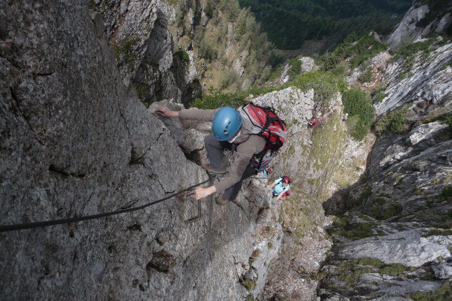 Pittentaler Klettersteig : Klettersteig schwierigkeitsskala klettersteige für einsteiger v