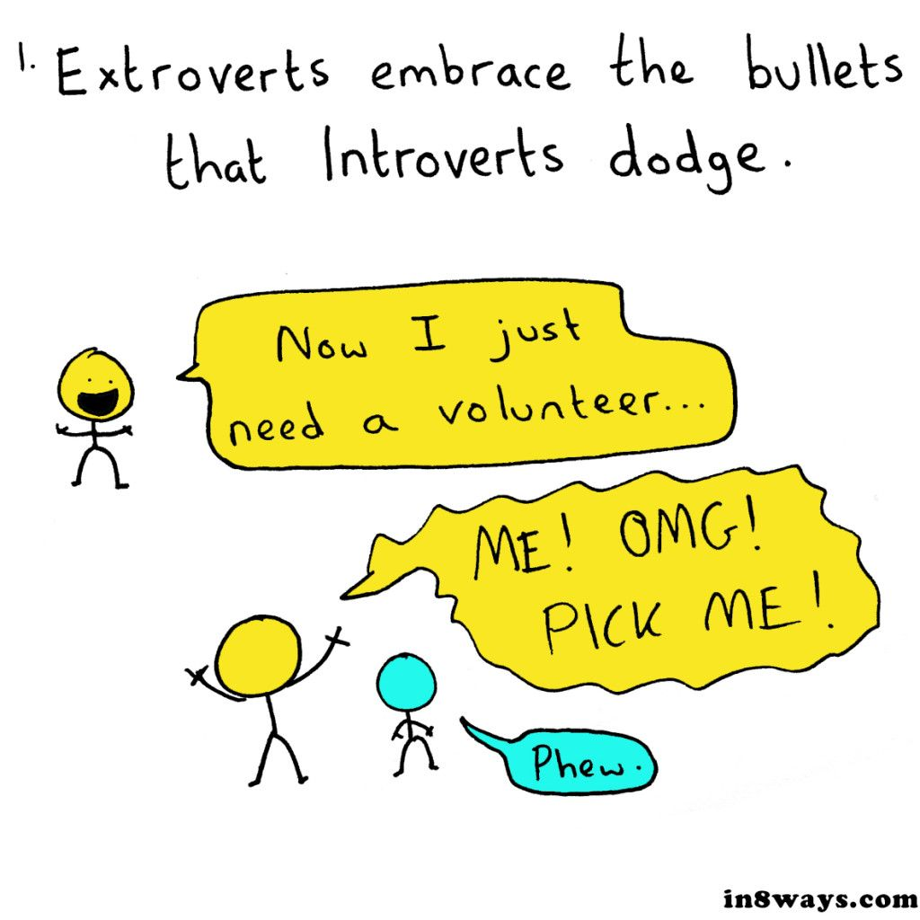 Reasons Why Introverts and Extroverts Need Each Other-- of course we need each other :)