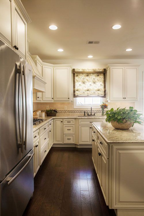 Our Top 5 Antique White Cabinet Countertop Pairings Antique White Cabinets Antique White Kitchen Antique Kitchen