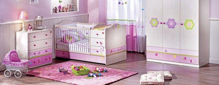100 Girls\u0027 Room Designs Tip  Pictures baby room Pinterest