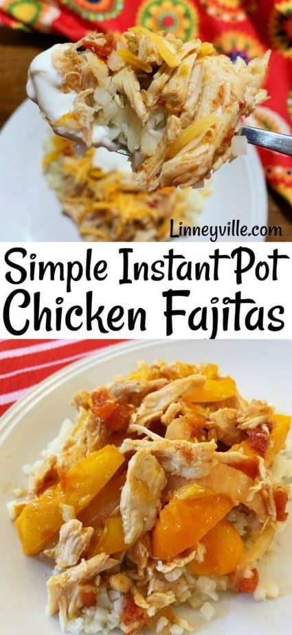 love this Instant Pot recipe for light and tasty chicken fajitas Like most recipes I like to keep it simple and so I let the chicken peppers and onions be the stars of th...
