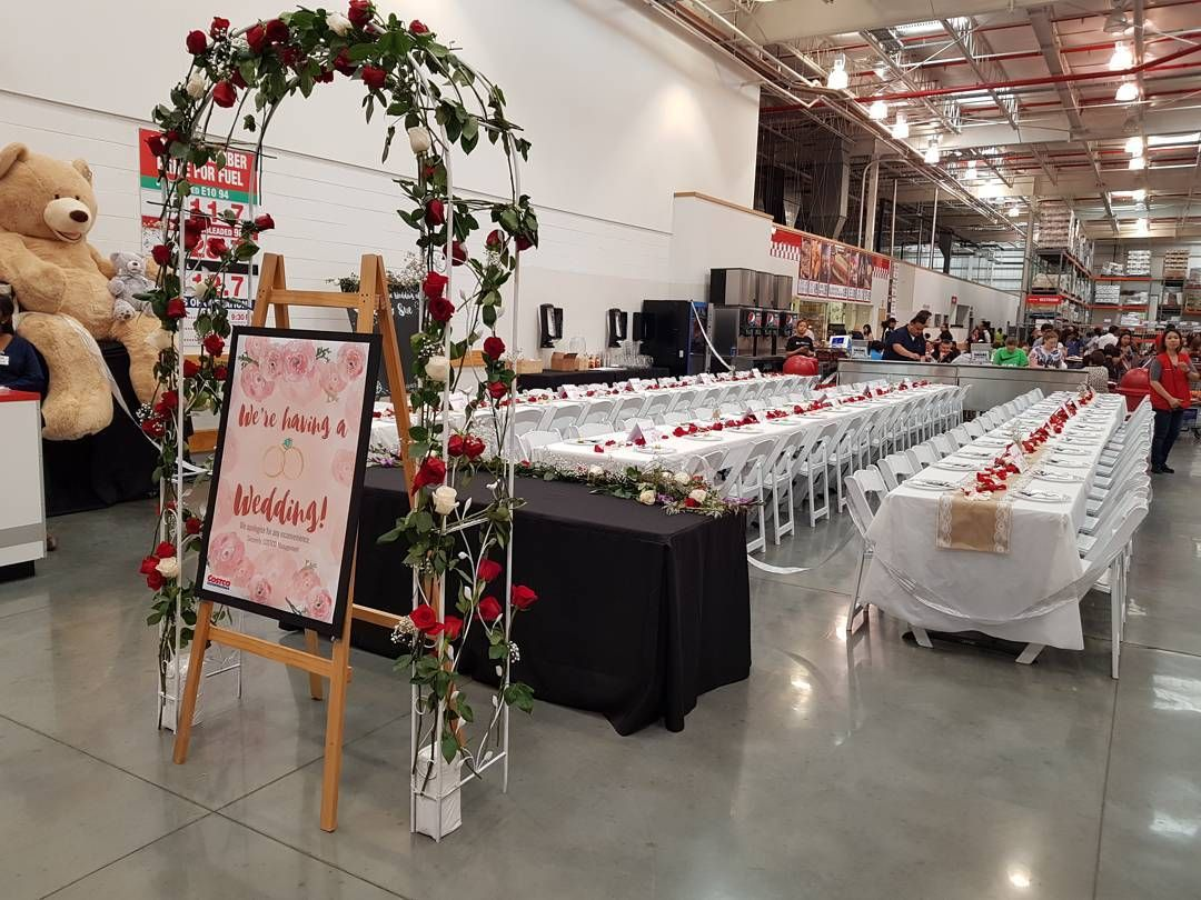 Who needs pinterest this costco wedding is seriously goals costco