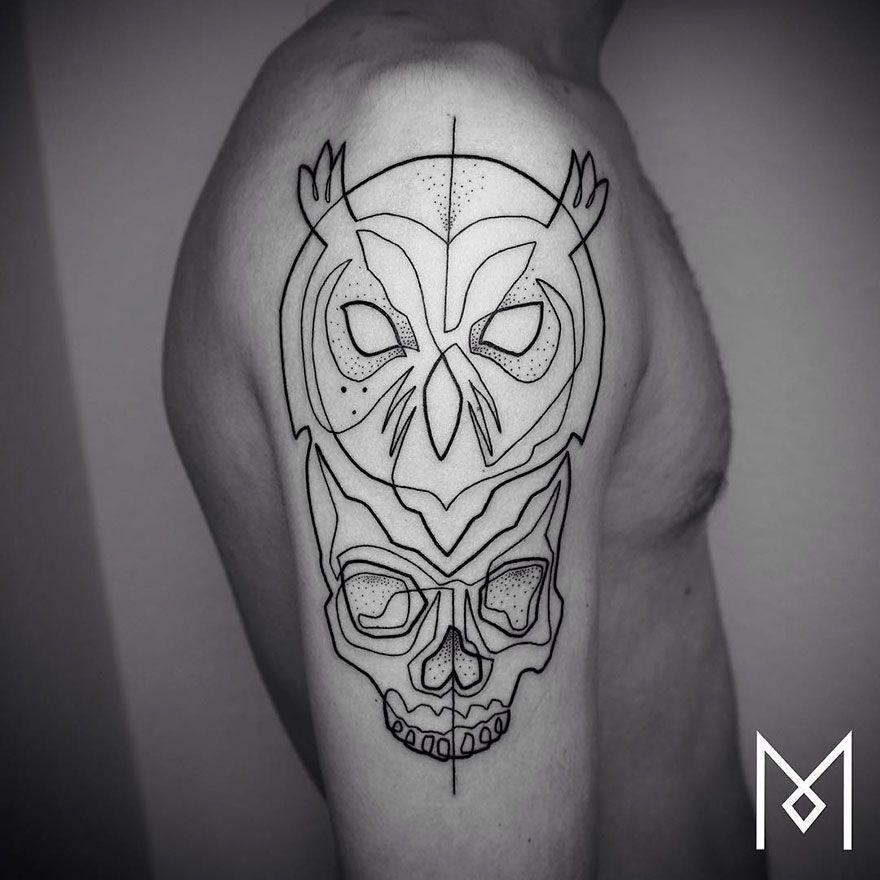 De Nouveaux Tatouages Minimalistes Lineaires Par Mo Ganji Tattoo