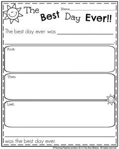 First Grade Writing Prompts for Winter | work on writing