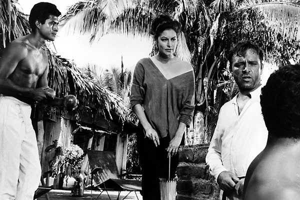 La noche de la iguana. John Huston, basada en la obra teatral del mismo título de Tennessee Williams. 1964