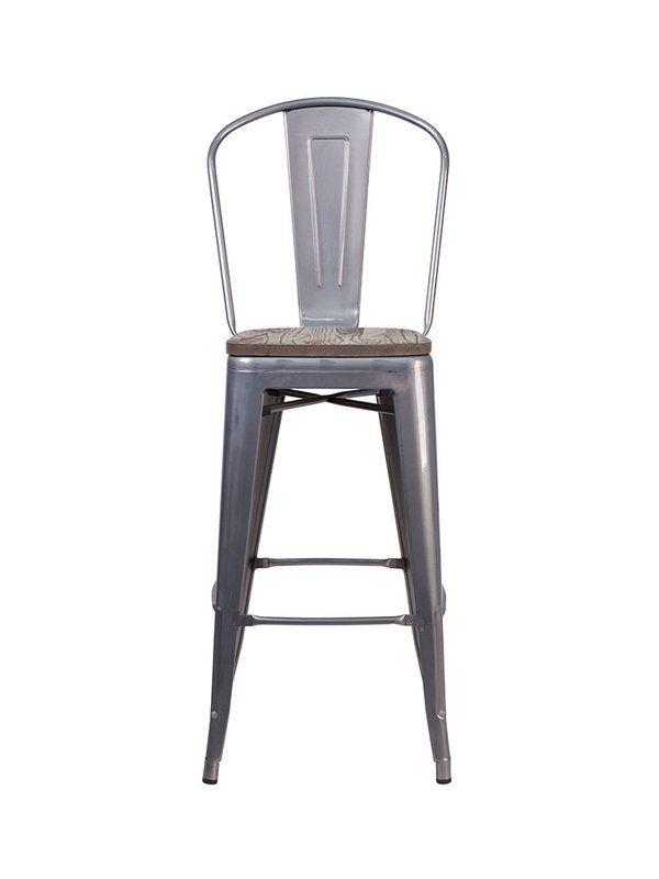 Peachy Bette 30 5 Bar Stool Home Design Inspiration High Back Ibusinesslaw Wood Chair Design Ideas Ibusinesslaworg