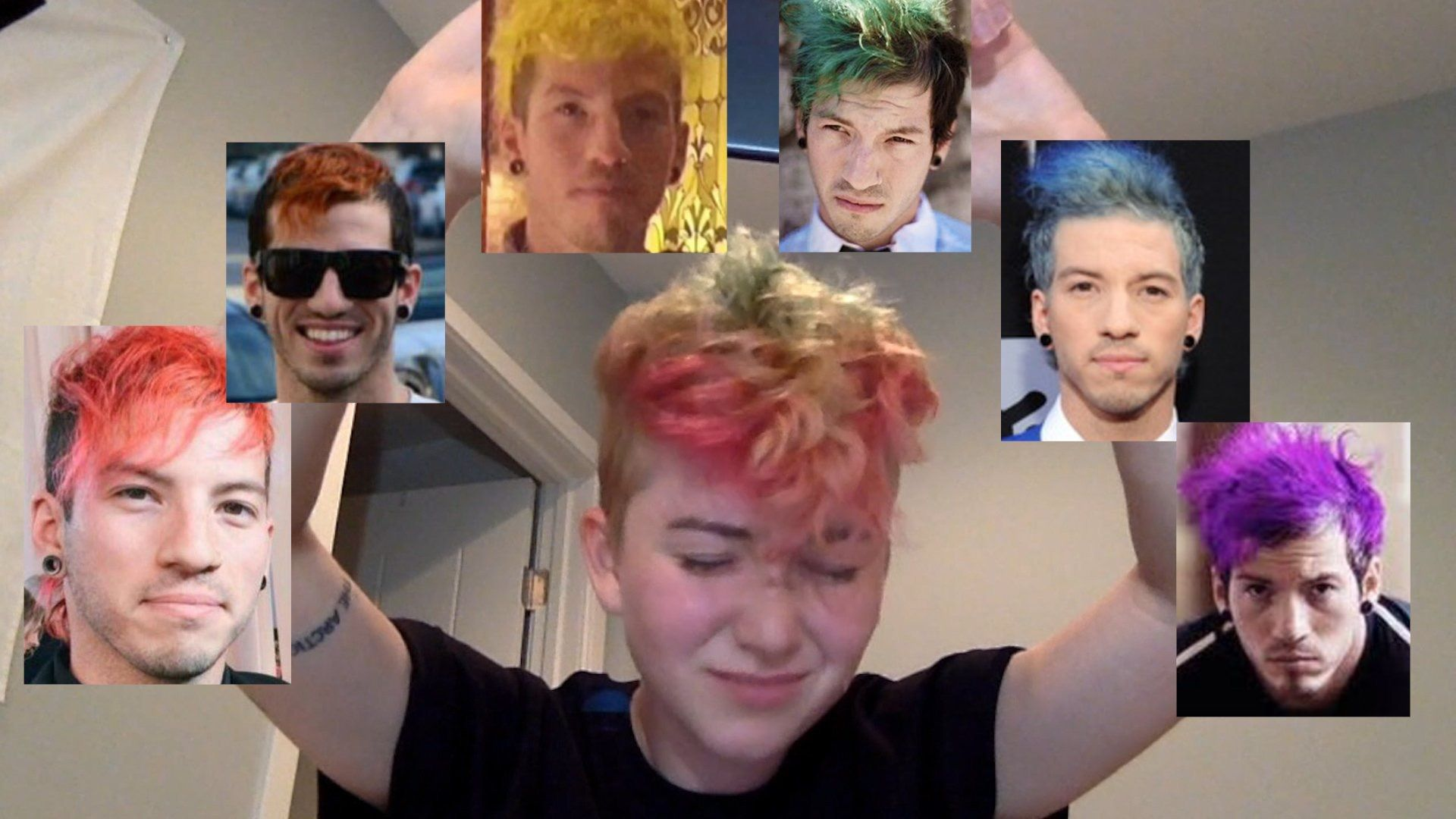 Emo boy hairstyle hd wallpaper yes my two favorite things  twenty øne piløts  pinterest